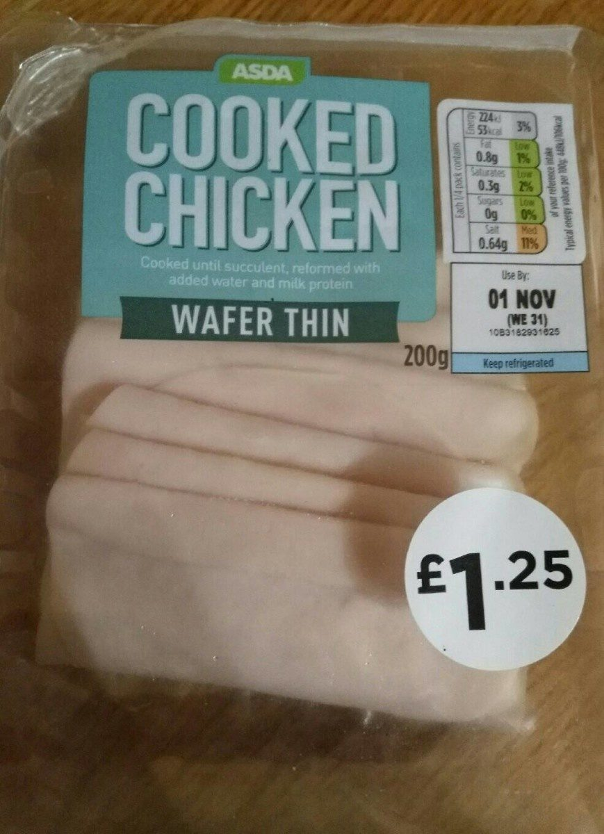 Cooked Chicken Wafer Thin - Product - en