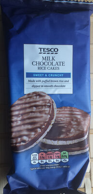 Milk chocolate rice cakes - Product - en