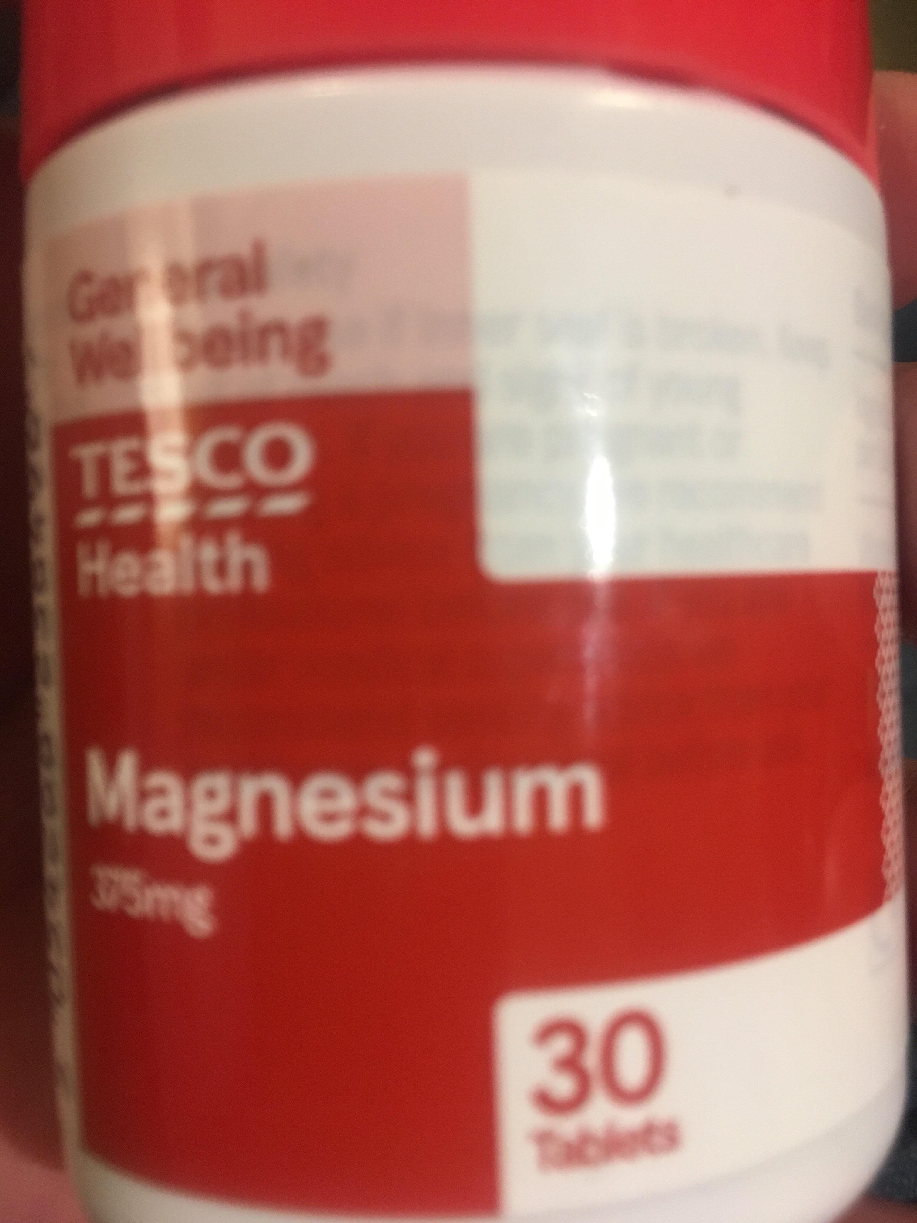 Magnesium and Vitamin B - Produit