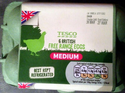 Free range eggs - Product