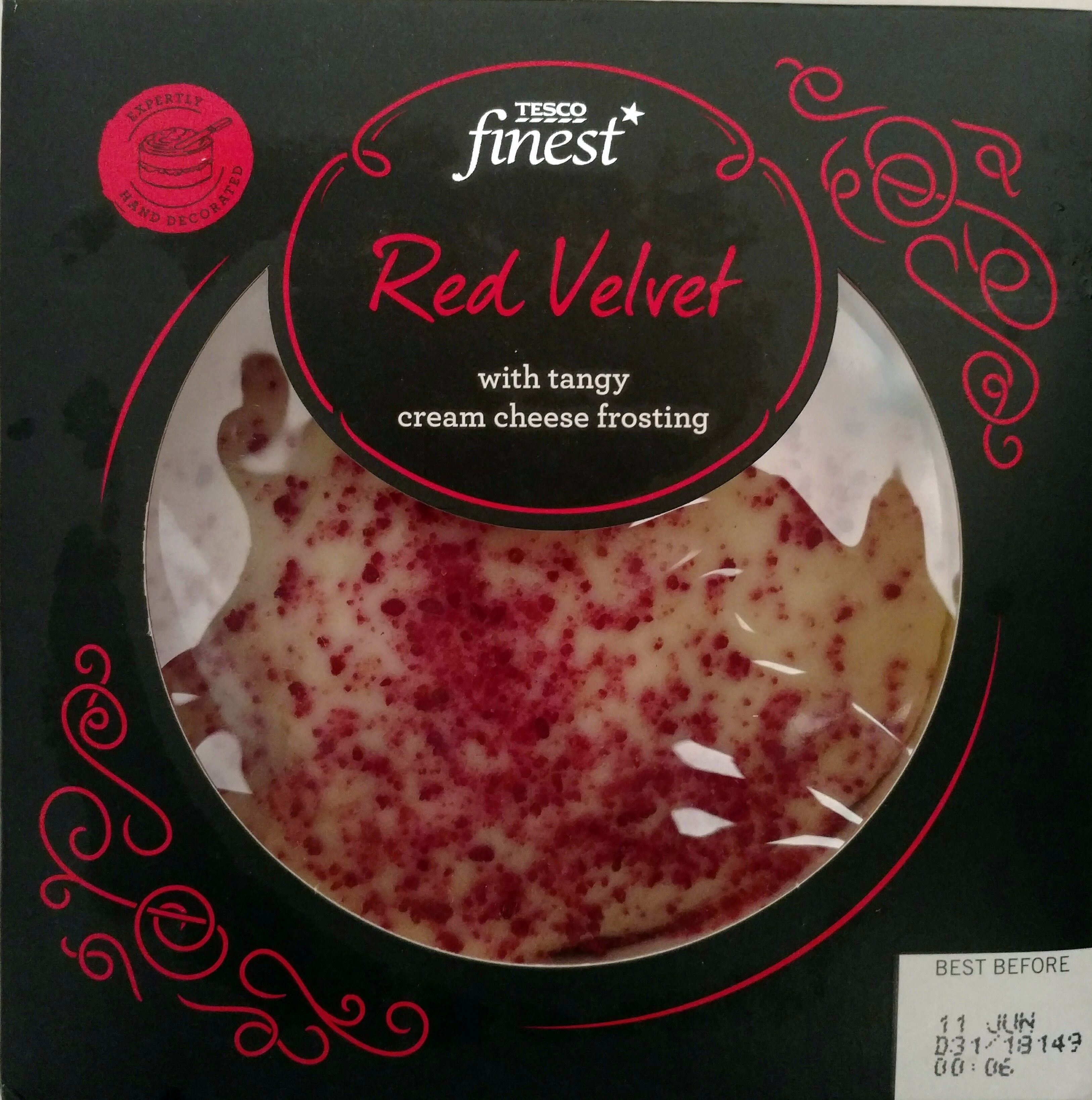 Tesco Finest Red Velvet Cake 384 G