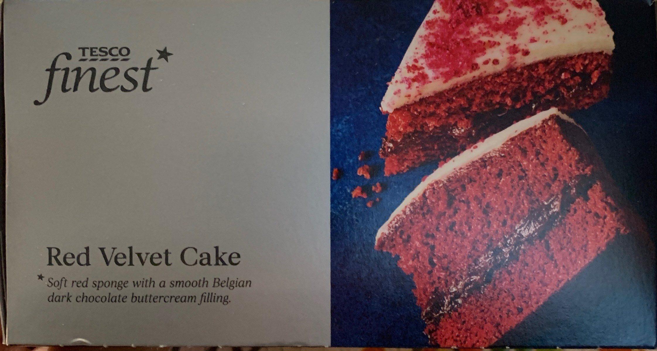 Tesco Finest Red Velvet Cake - Produit
