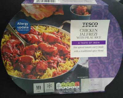 Chicken jalfrezi with pilau rice - Product
