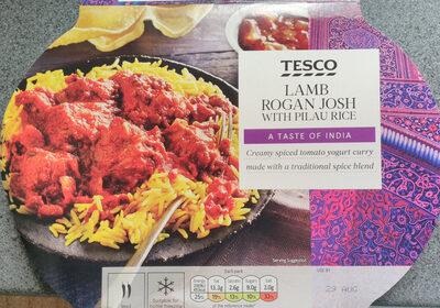 Lamb rogan josh with pilau rice - Product