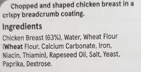 Breaded Chicken Steaks - Ingredients - en