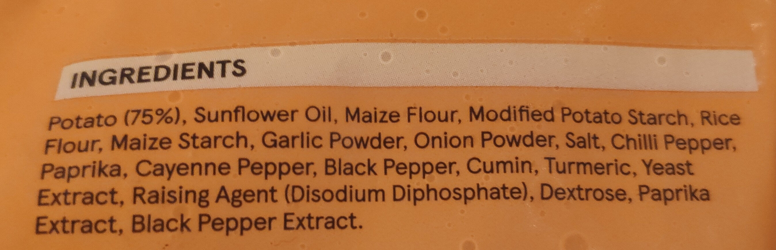 Potato lattices - Ingredients - en