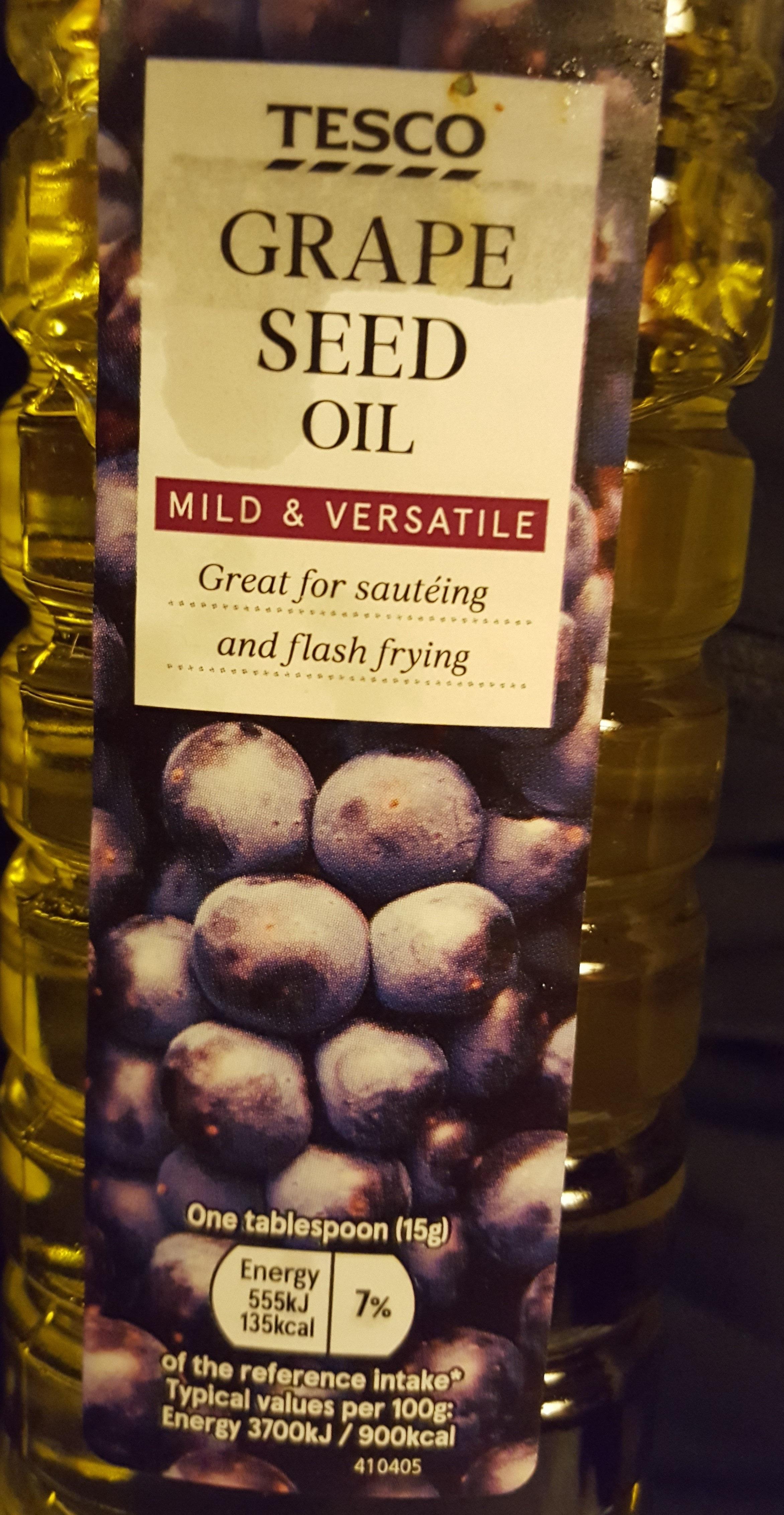 Grape Seed Oil Tesco 500 Ml