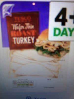 Wafer Thin Roast Turkey - Product