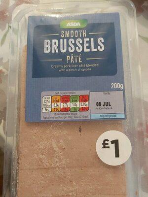 Smooth Brussels Pate - Product - en