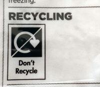 Mini tortillas Plain - Istruzioni per il riciclaggio e/o informazioni sull'imballaggio - en