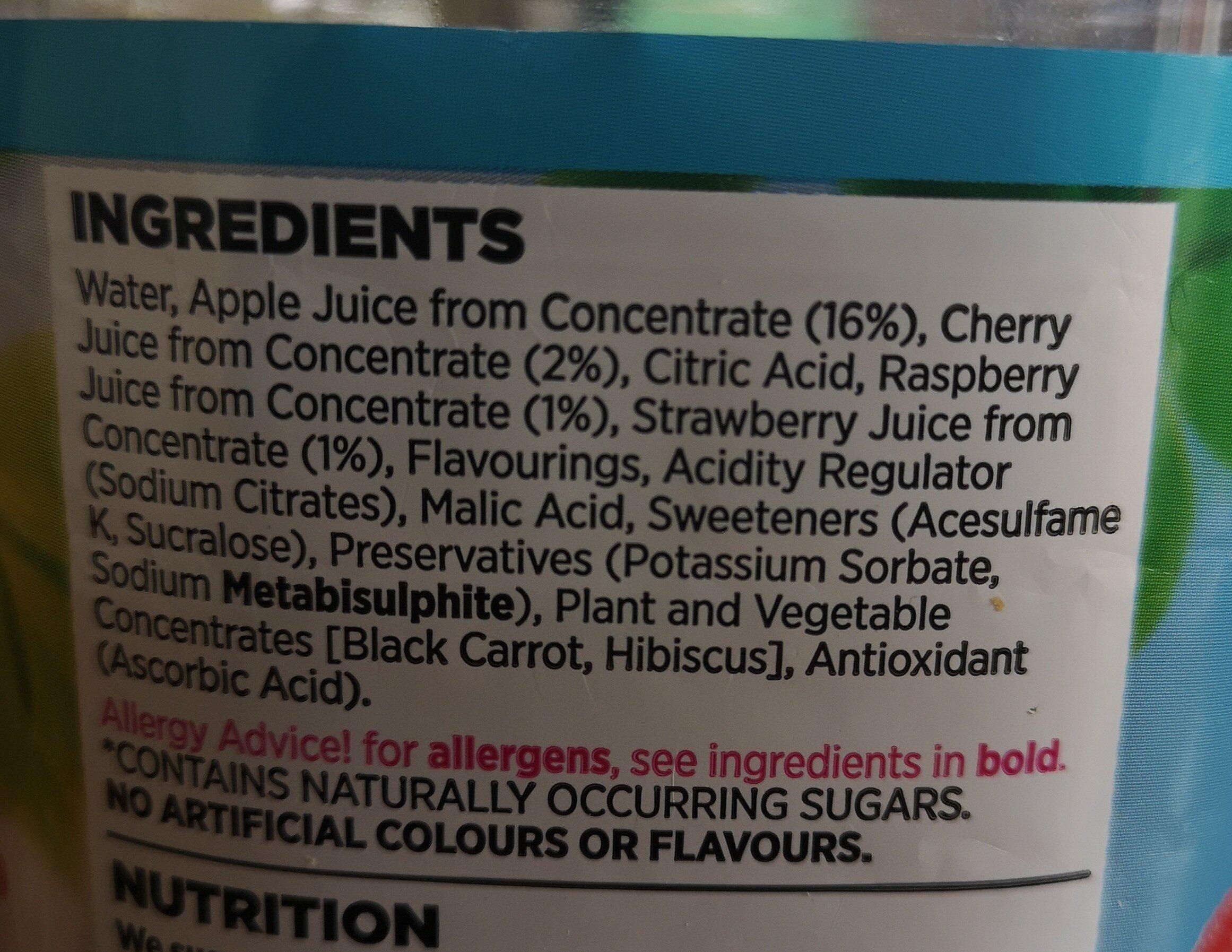 Cherries and berries - Ingredients - en