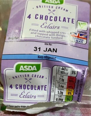 Chocolate Eclairs - Produit - en