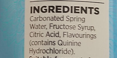 Extra Special Light Tonic Water - Ingredients