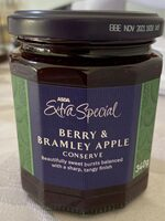 Berry & bramley Apple jam - Product - en