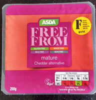 mature Cheddar alternative - Product - en