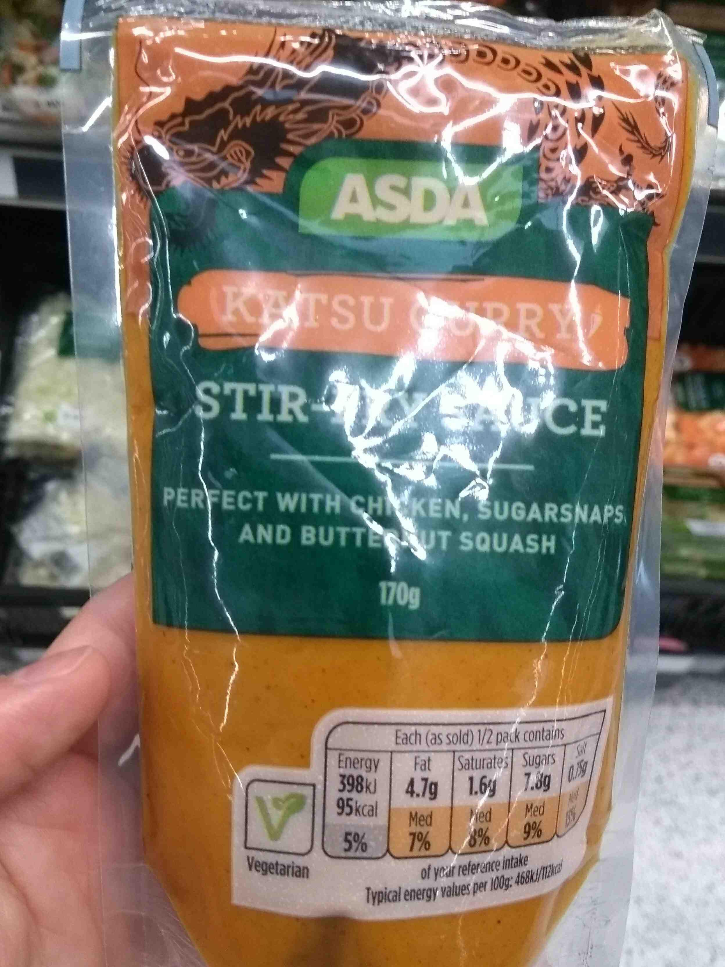 Katsu Curry Stir Fry Sauce Asda