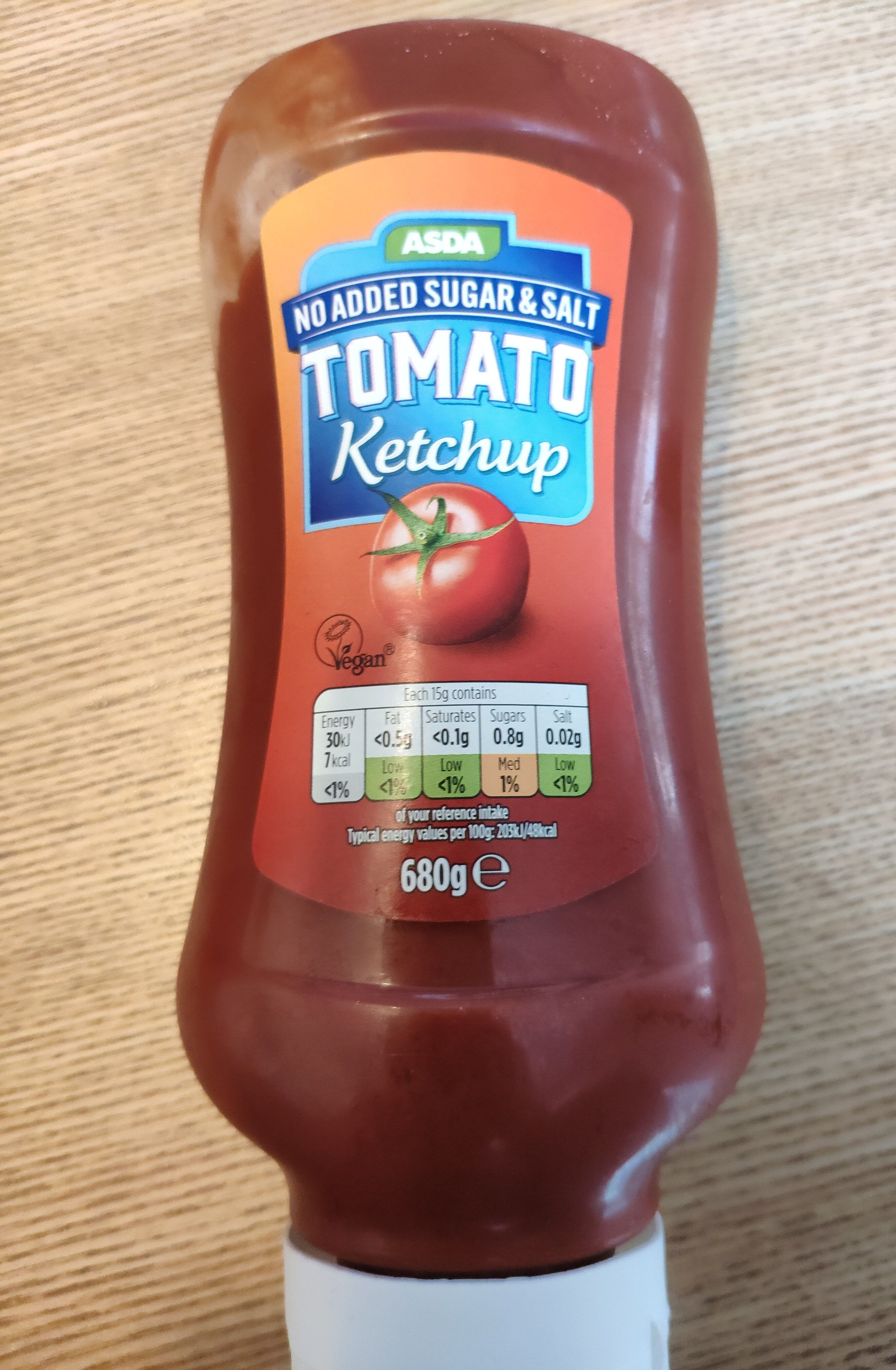 No added Sugar & Salt Tomato Ketchup - Product - en