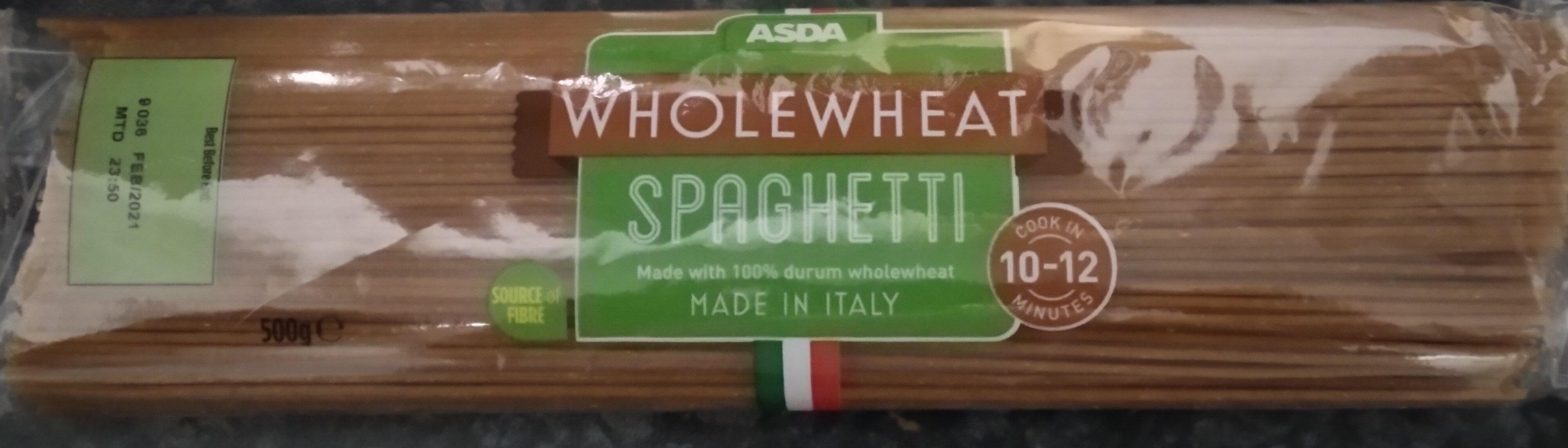Wholewheat spaghetti - Product