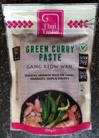 Thai Taste Green Curry Paste - Product - en