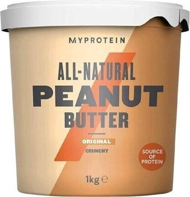 All-Natural Peanut Butter Original Crunchy - Prodotto - en