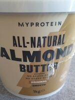 All Natural Almond Butter - Product - en