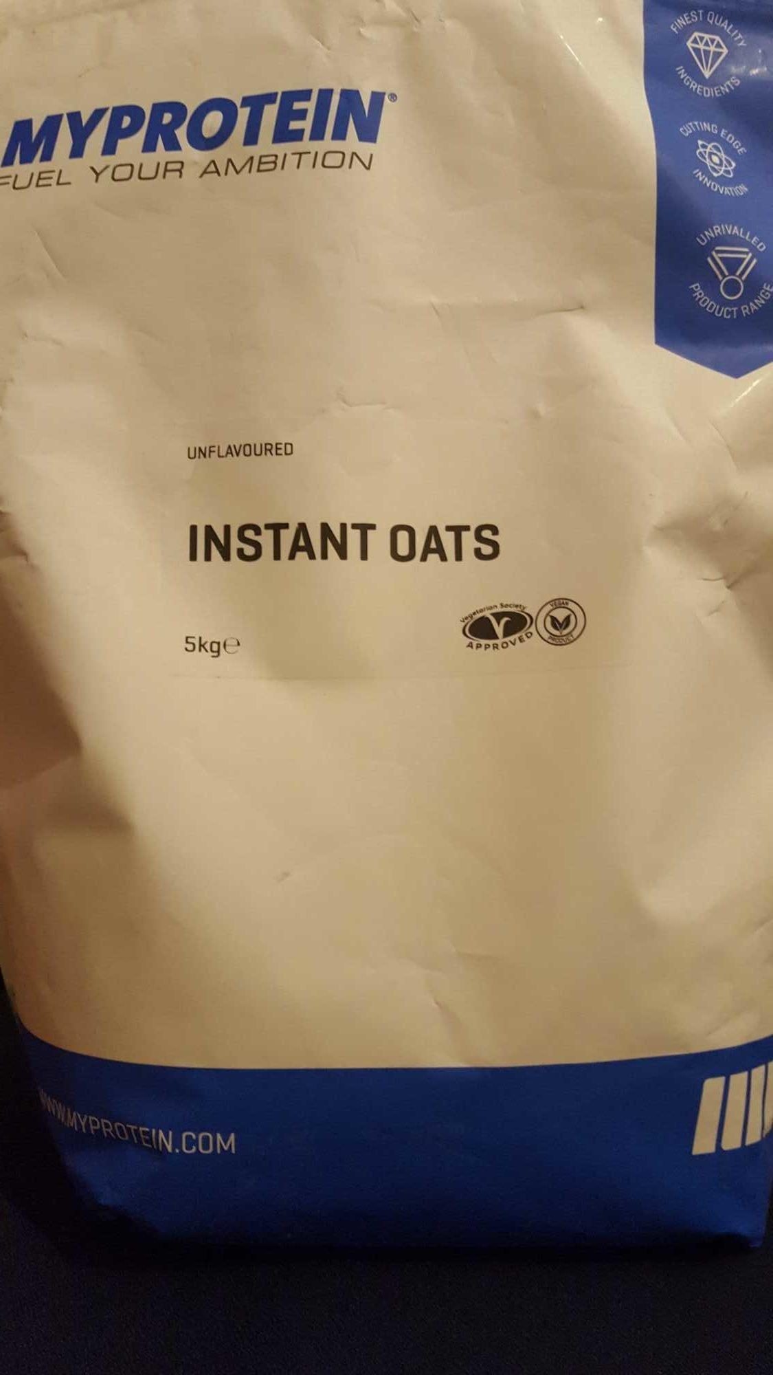 Instant oats sans arôme - Produit