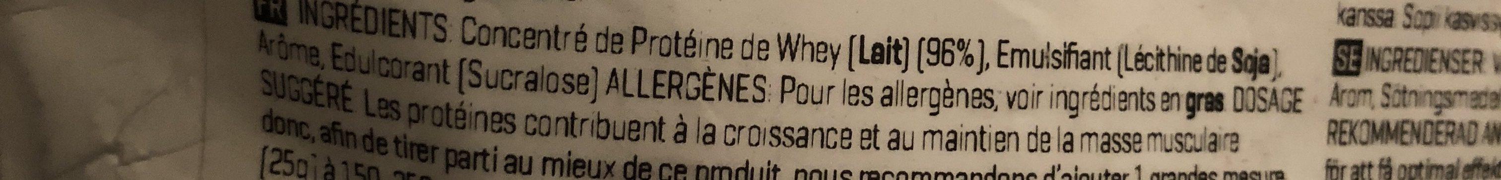Myprotein Impact Whey Protein Cookies Et Cream ? - Ingredientes - fr