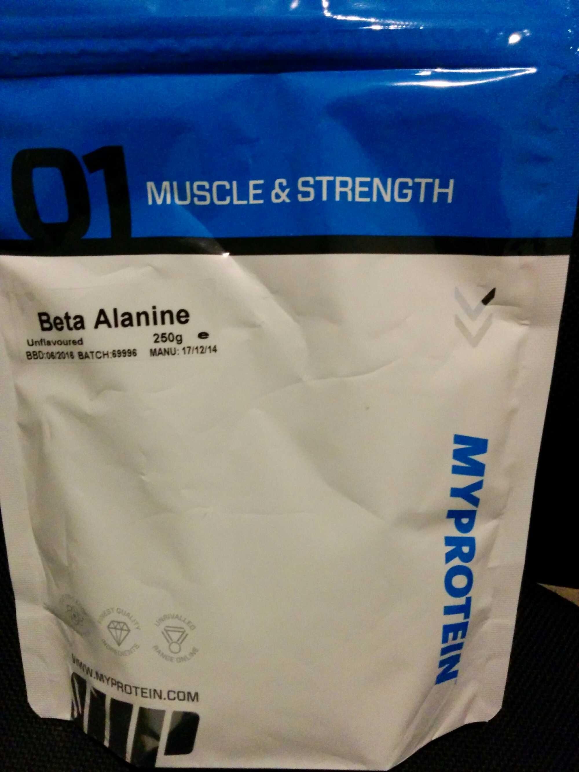Beta Alanine - Product - de