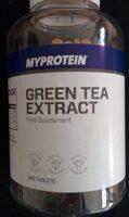MyProtein Green Tea Extract 360 tablets - Produit - en