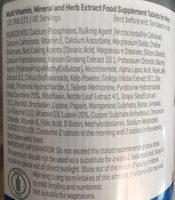 My Protein Alpha Men - 120 Gel Capsules - Ingrédients - fr