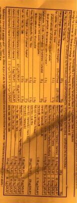 Myprotein Total Breakfast, Chocolat Moelleux, Poche, 2.1 KG - Informations nutritionnelles - fr