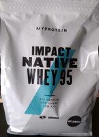 Impact Native Whey 95 - Product