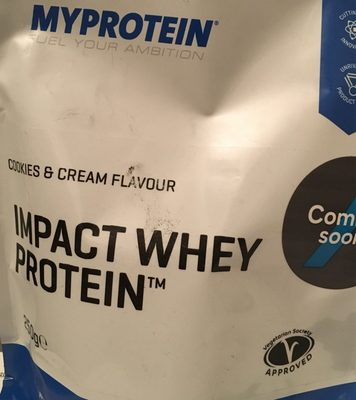 Impact Whey Protein, Cookies - Producto