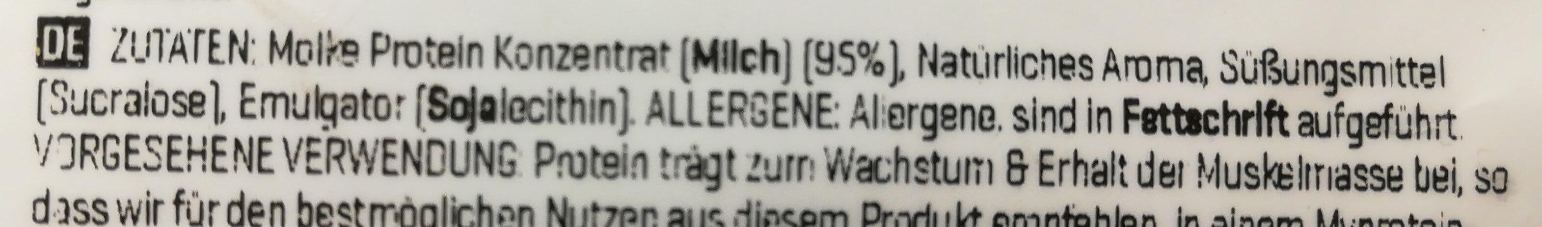Impact Whey Protein - 1000G - Natural-vanille - Ingredients - en