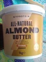 Almond Butter Crunchy - Product