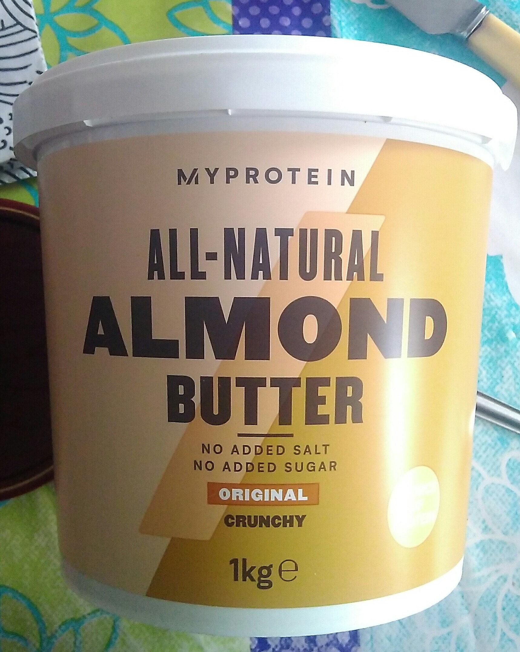 Almond Butter Crunchy - Produit