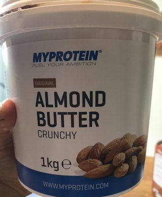Almond Butter Crunchy - Ingrédients