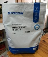 Impact Whey Isolate, Salted Caramel, 2.5KG - Product