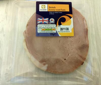 British honey roast ham - Product - en