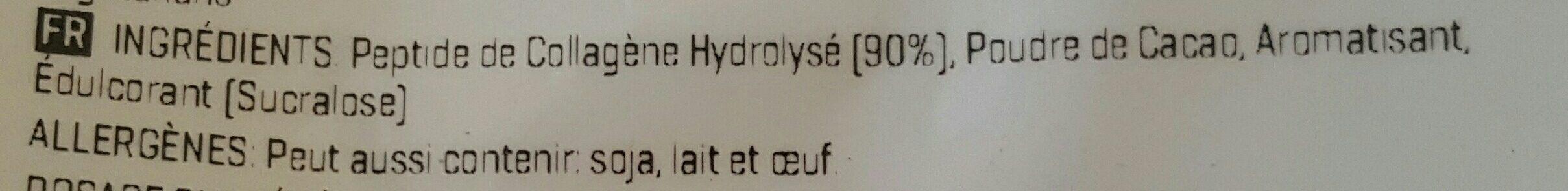 Peptide de Collagène Hydrolysé - Ingrediënten - fr