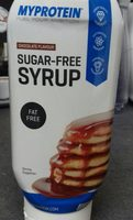 SUGAR-FREE SYRUP - Produit