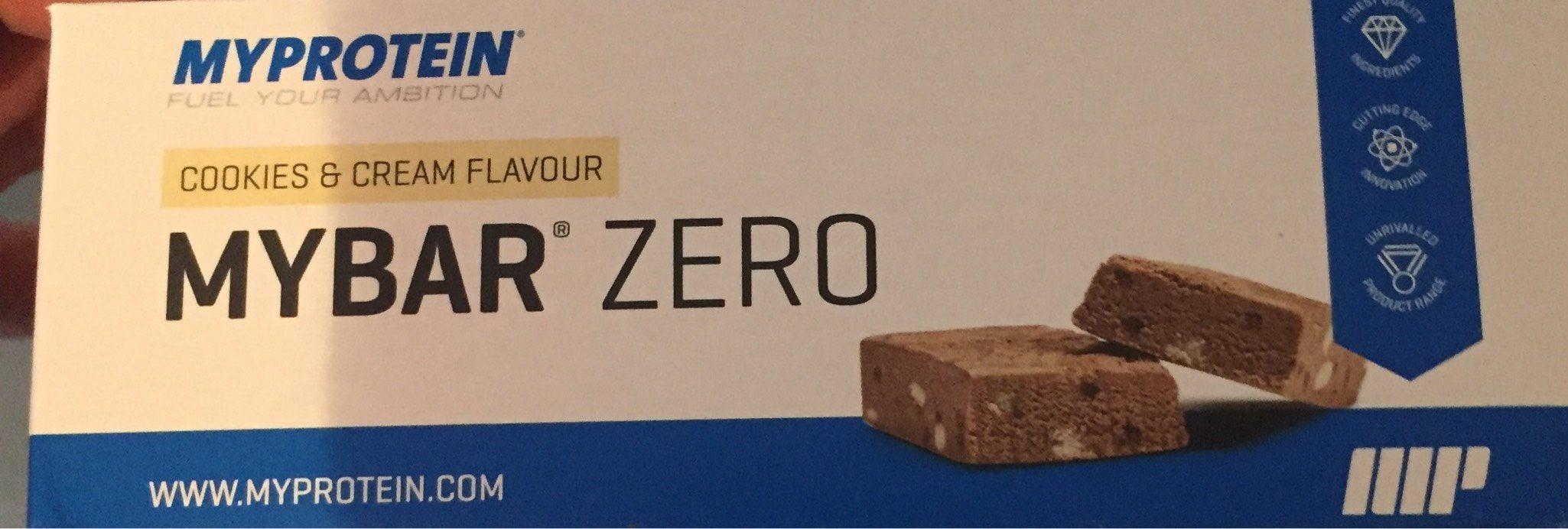 Mybar Zero Almond Vanilla Flavour - Myprotein