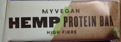 Hemp Protein Bar (sample) 52G, Unflavoured - Produit