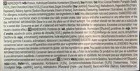 Lean cookie - Ingredients - fr