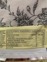 Protein Brownie White Chocolate - Informazioni nutrizionali - fr