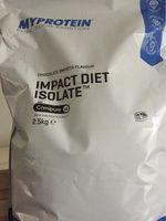 Impact diet isolate - Produit