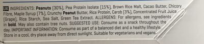 Vegan Protein Bar - Ingredients