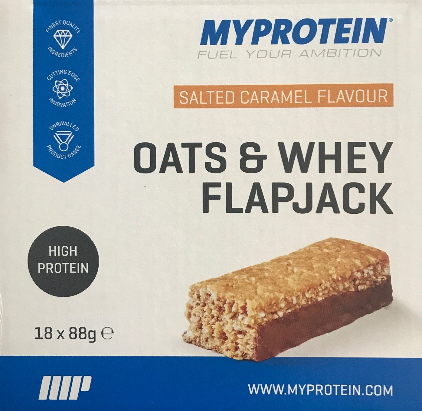 Oats & Whey Flapjack - Produit - fr