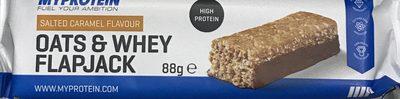 Oats & Whey Flapjack - Product - fr
