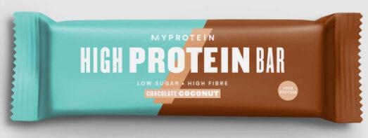 Barre Hyper Protéinée Chocolat Noix de coco - Produit - fr